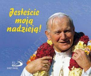 Perełka papieska - Jesteście moją nadzieją!  - książeczka upominkowa