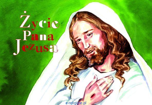 Zycie Pana Jezusa Kolorowanka Religijna Dla Dzieci Promic