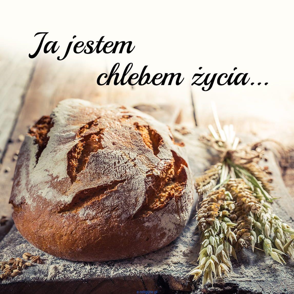 """Podstawka korkowa """"Ja jestem chlebem życia..."""""""