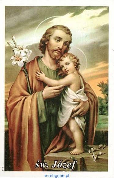 Obrazki ze św. Józefem i modlitwą (100 sztuk)
