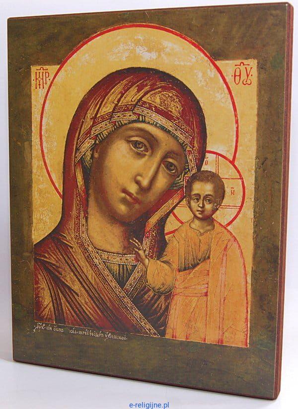 Modish Ikona Matka Boża Kazańska - reprodukcja (20x25) BB96