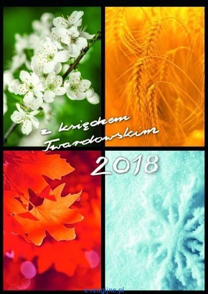 Kalendarzyk Z Księdzem Twardowskim Na 2018 Rok Cztery Pory Roku