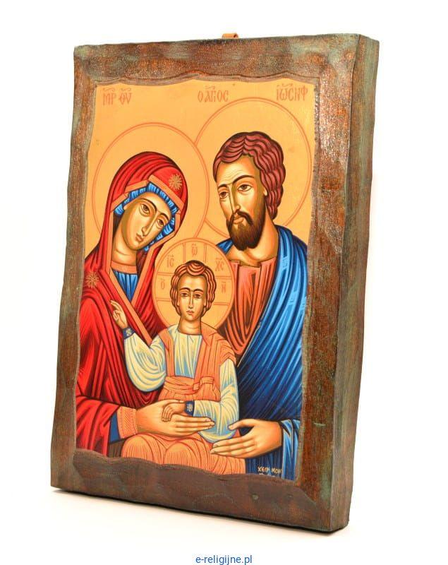 święta Rodzina Ikona Bizantyjska 15 X 21 Sklep Z Ikonami Dewocjonalia