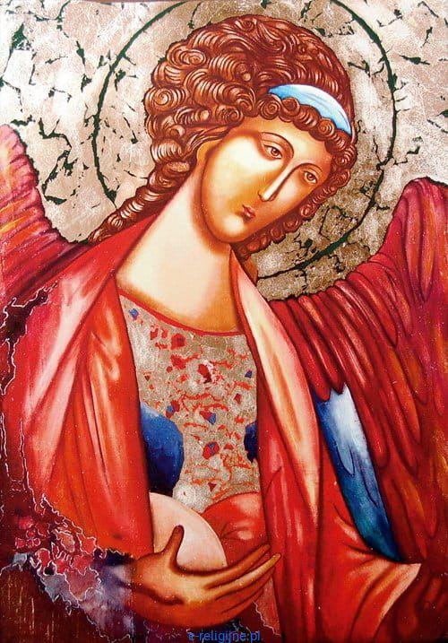 Zaawansowane Archanioł Michał Rublow obraz na płótnie DF56