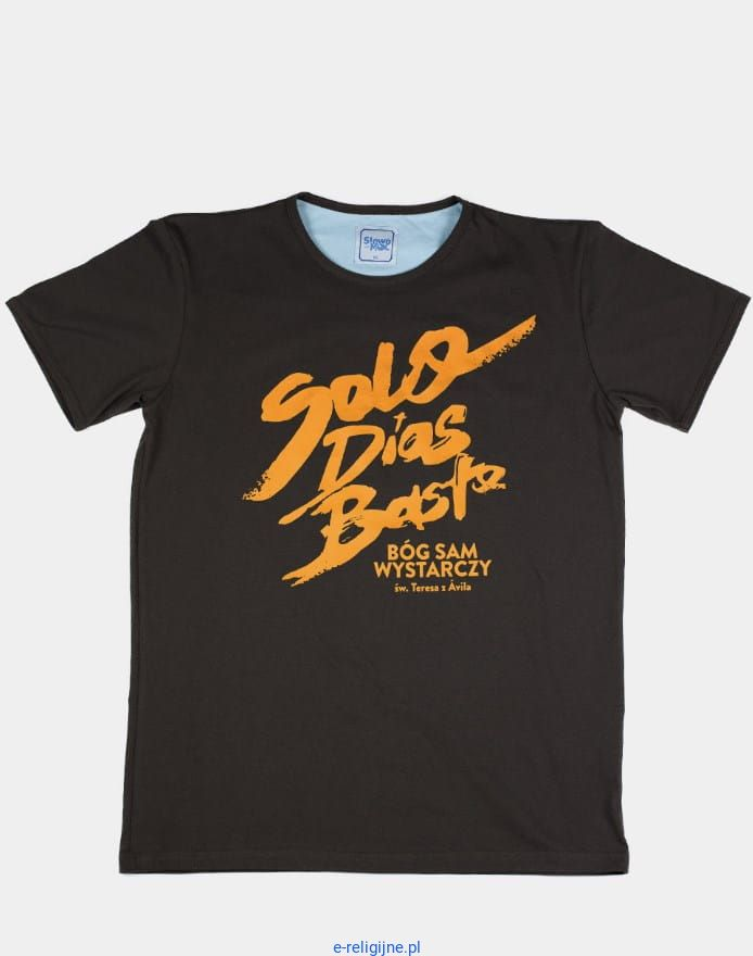 5f5a216b3 Chrześcijańska koszulka męska Solo Dios Basta sklep chrześcijański e- religijne - odzież - ewangelizacja -