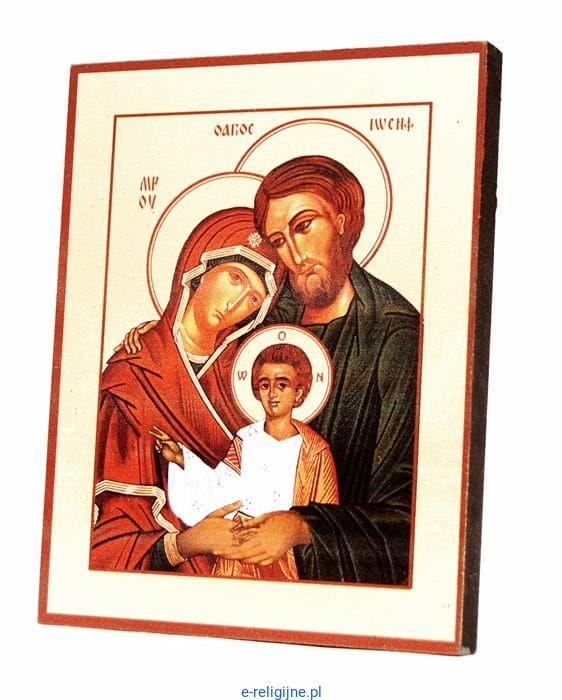 Ikona św Rodziny Vv 15 X19 B 03