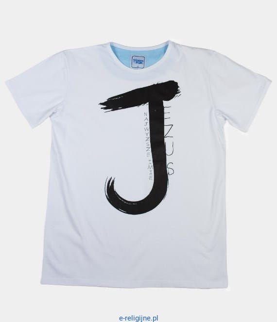 f8b6134e9 Chrześcijańska koszulka - Jezus Najwyższe Imię - sklep z odzieżą dla  chrześcijan - upominki religijne,