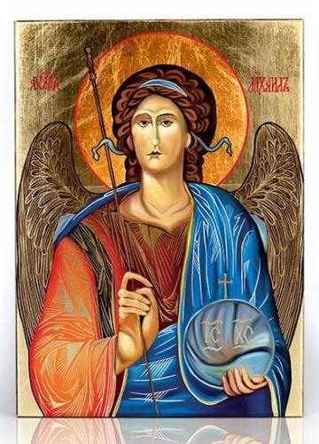 Ogromny Święty Michał Archanioł ikona 11,5 x 16 (1) GU07