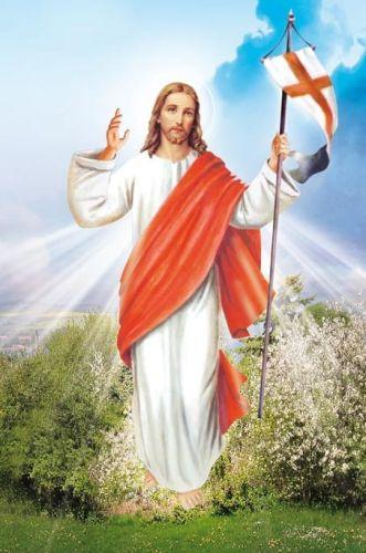 Znalezione obrazy dla zapytania jezus zmartwychwstały