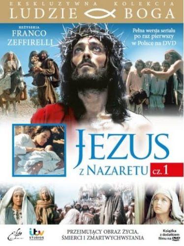 Jezus Z Nazaretu Cz 1 Film Dvd Z Książeczką Kolekcja Ludzie Boga Dvd E Lite Distribution